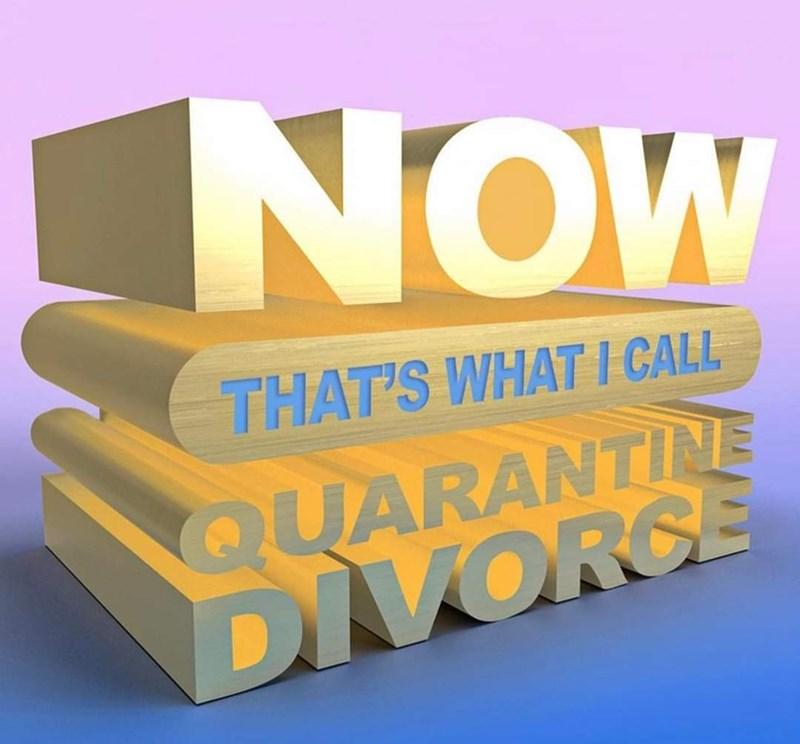 Gesture - NOW THAT'S WHAT I CALL QUARANTINE DIVORCE