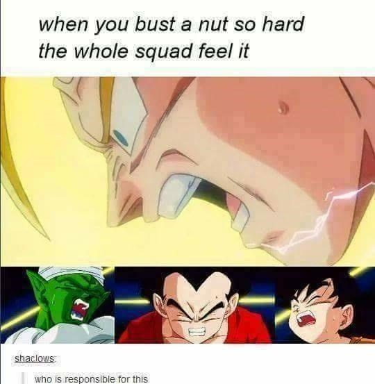 Mouth - when you bust a nut so hard the whole squad feel it shaclows who is responsible for this