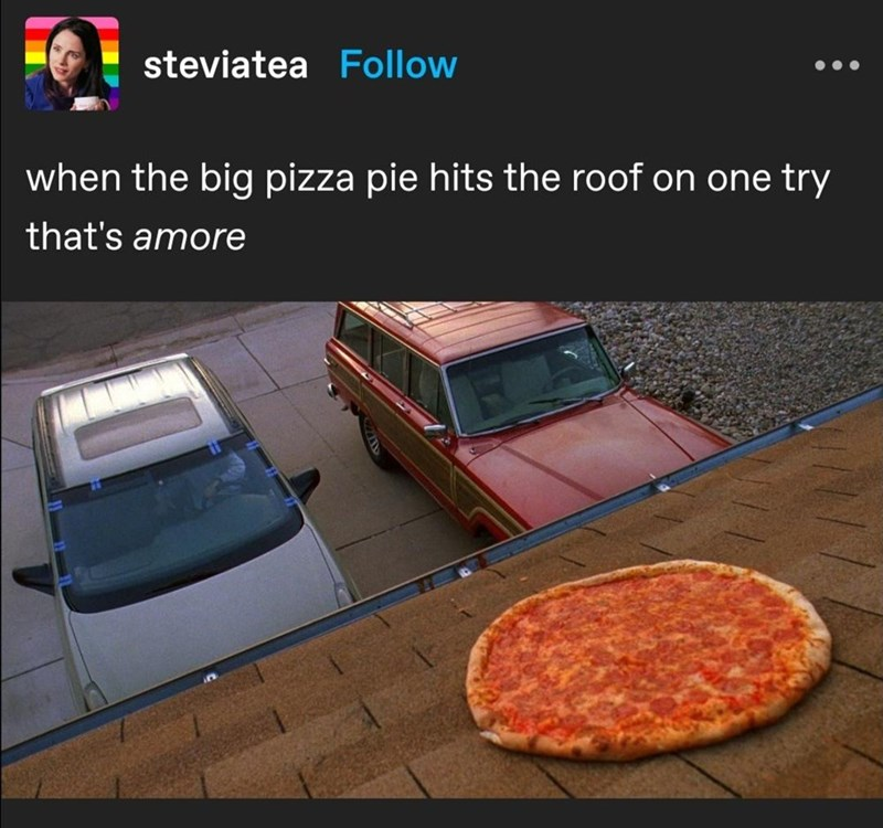 Automotive parking light - steviatea Follow when the big pizza pie hits the roof on one try that's amore