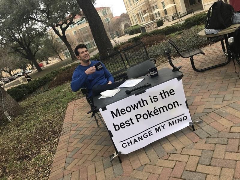 Plant - uDER CROWDER Meowth is the best Pokémon. CHANGE MY MIND 中 一