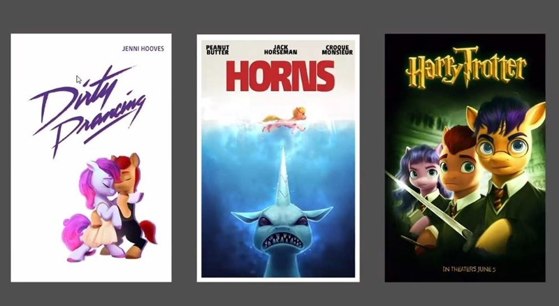 jaws Harry Potter ponify dirty dancing imalou - 9639037696
