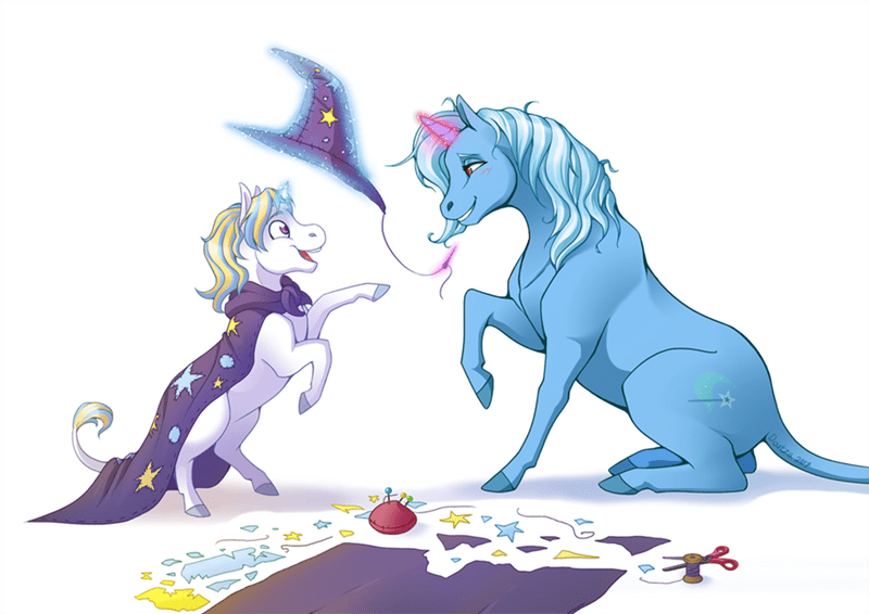 the great and powerful trixie OC dartzu moondancer - 9640474624
