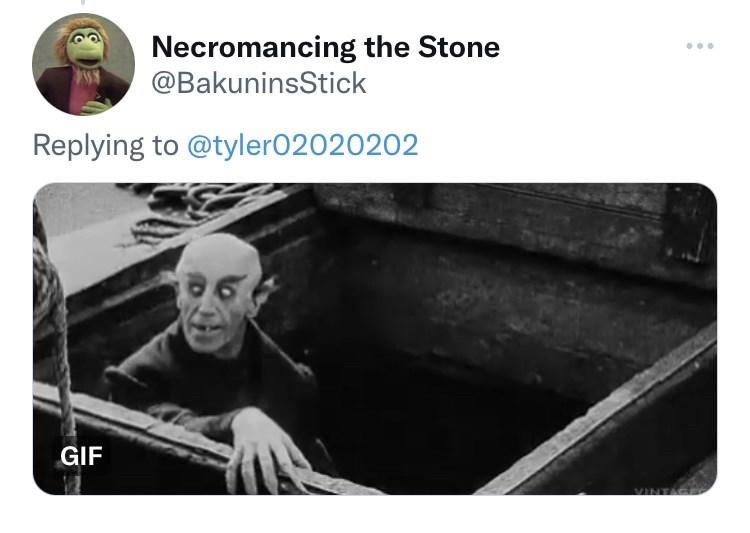 Motor vehicle - Necromancing the Stone @BakuninsStick ... Replying to @tyler02020202 GIF VINTAGE