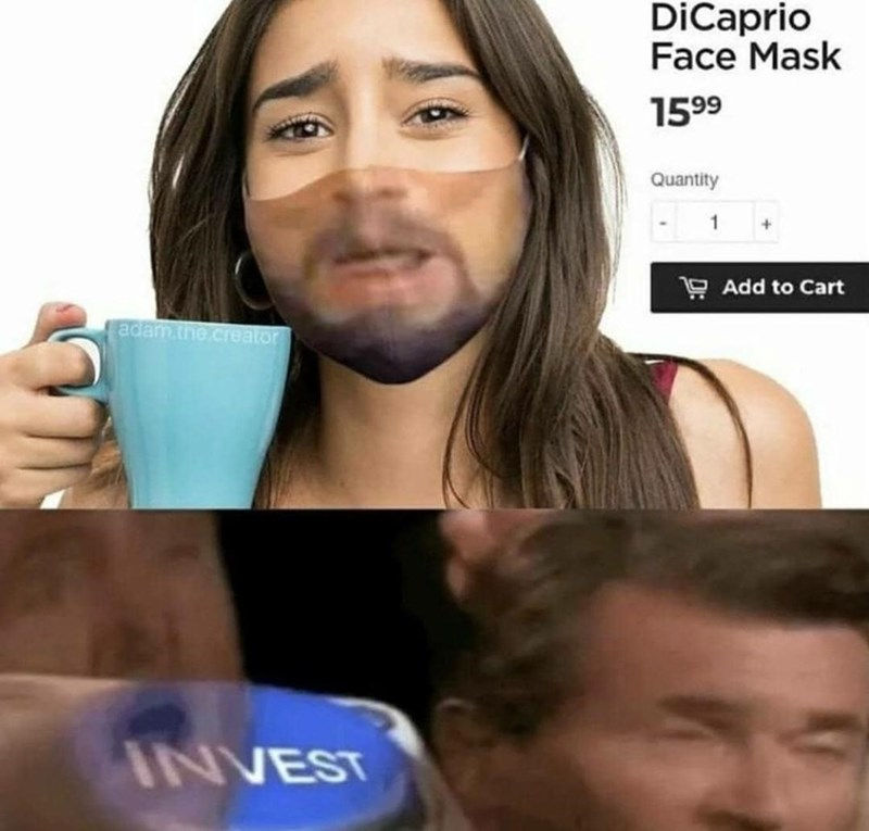Hair - DiCaprio Face Mask 1599 Quantity 9 Add to Cart adam.the.creator INVEST