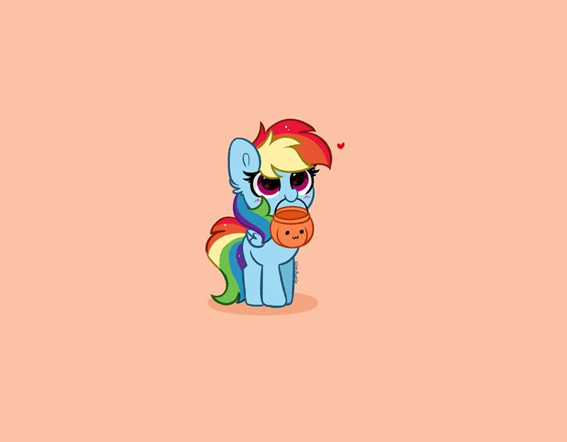 halloween kitty rosie rainbow dash - 9640990720