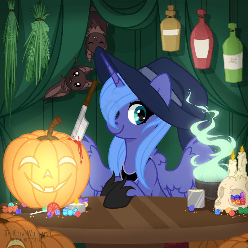 angelina-pax halloween princess luna - 9642976000