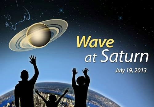 wave Astronomy science Saturn funny Cassini - 96517