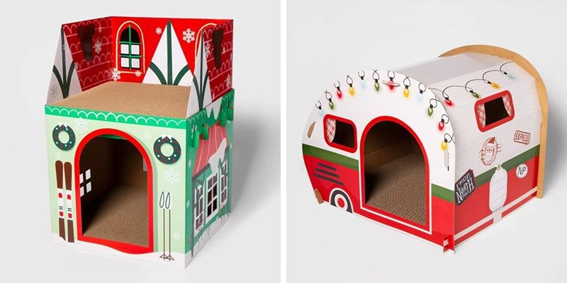 cat houses from Target