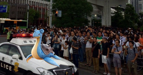 crazy Pokémon Pokémon GO Video Game Coverage tokyo lapras - 965893