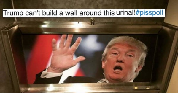 list urinal donald trump trend UK politics - 966405