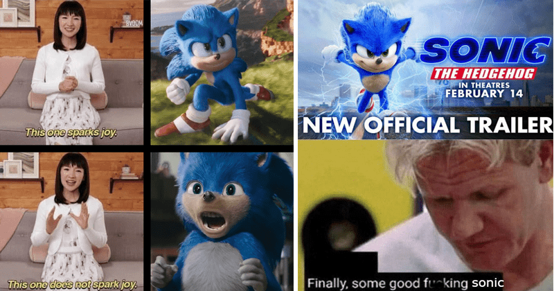 Funny dank memes about the new sonic the hedgehog movie trailer.