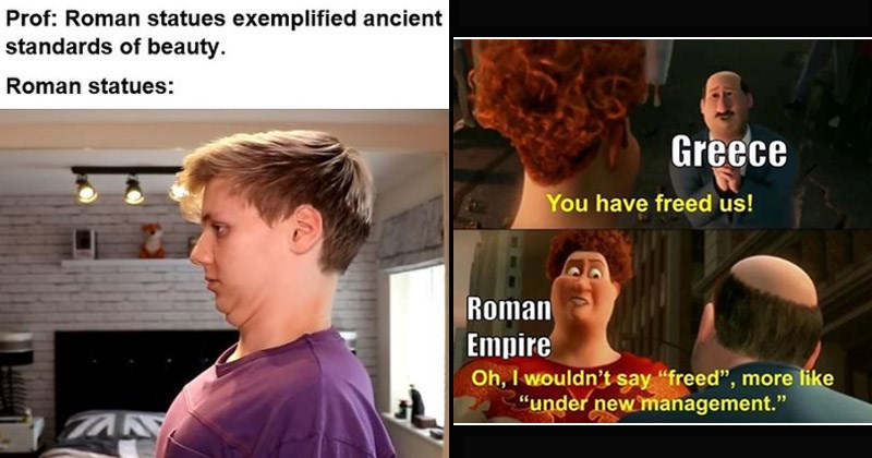 Funny memes about ancient Rome