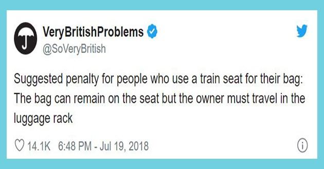 trains funny tweets lol