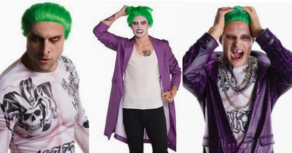 costume joker halloween jared leto