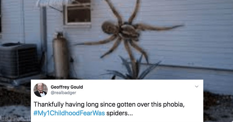 A collection of Twitter users share their biggest childhood fears.