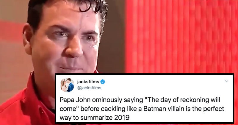 Papa John's Founder gets dragged all over Twitter after his recent, ridiculous interview.