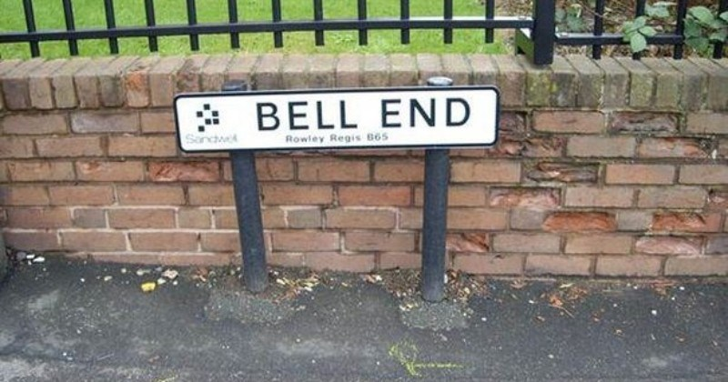 A collection of funny English place names.
