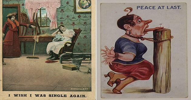 womens suffrage vintage sexism