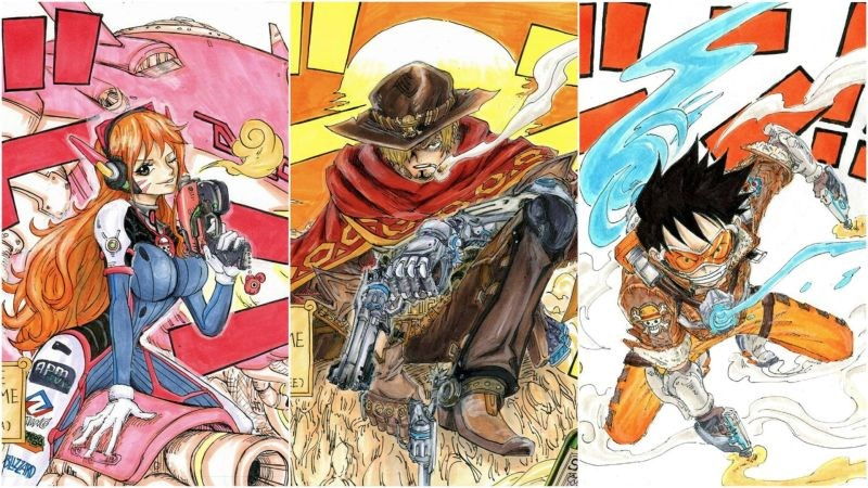 Fan Art Achieves Brilliance By Combining Overwatch and One Piece