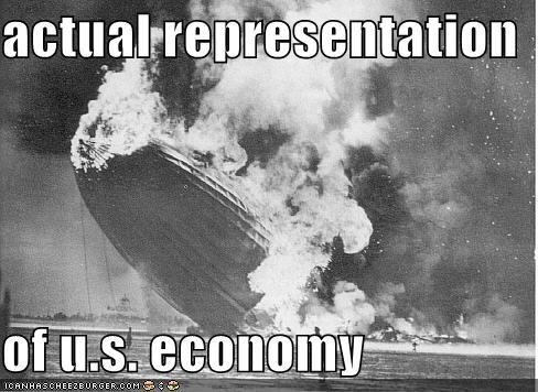 Economics Hindenburg Blimp - 986944768