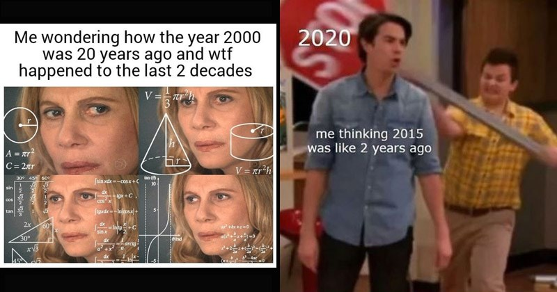 Funny memes about the start of 2020