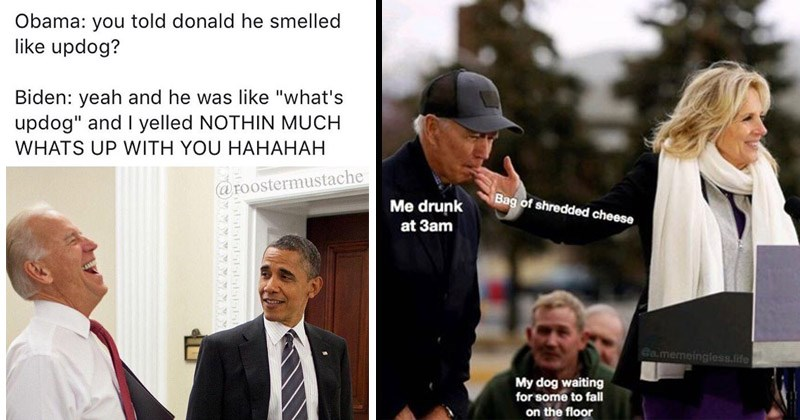 Funny memes about Joe Biden