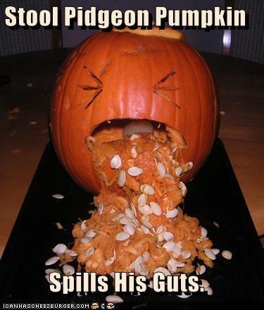 Image result for pumpkin guts meme
