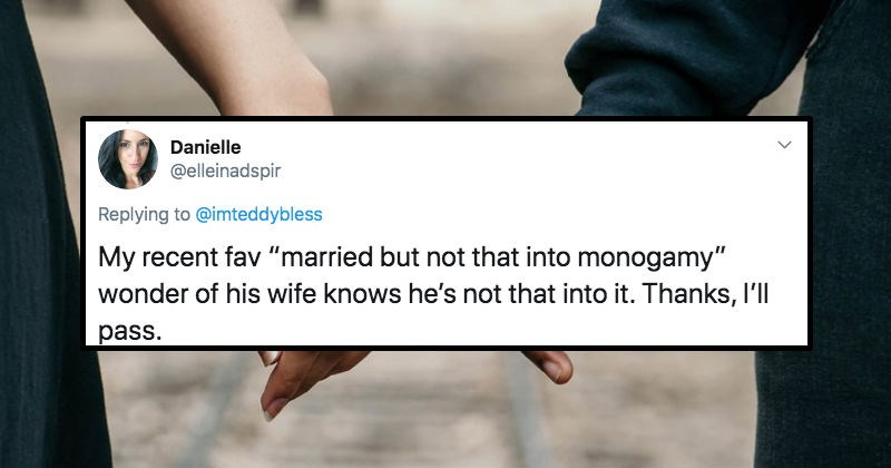 A collection of tweets from women describing the red flags that they get from guys on dating apps.