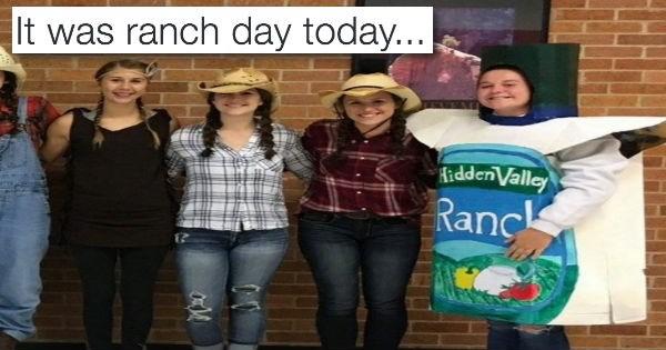 costume school list pun ranch tweet - 990213