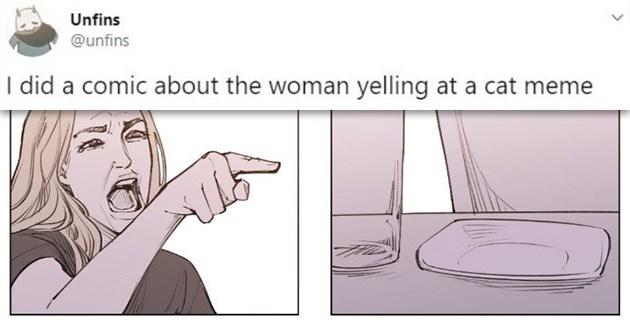 smudge comic cat meme