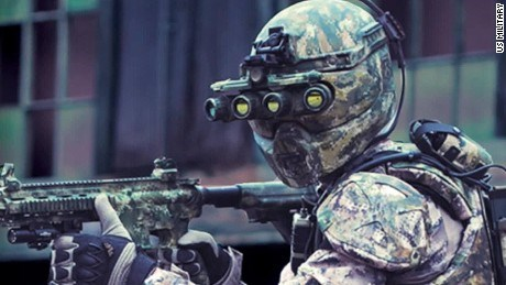 the US military wants to create cyborg soldiers