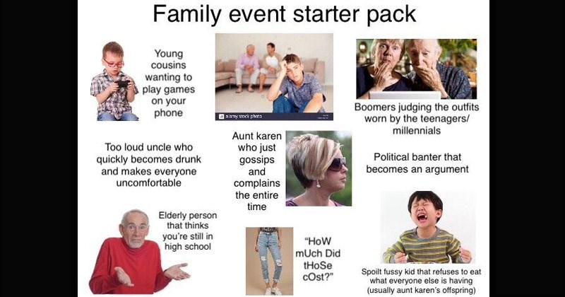 Funny starter pack memes