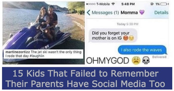 FAIL list instagram facebook social media parents