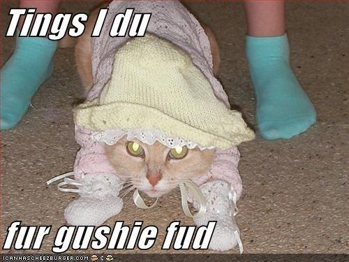 Tings I du   fur gushie fud