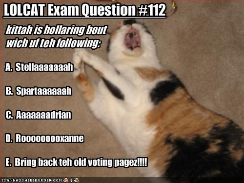 LOLCAT Exam Question #112