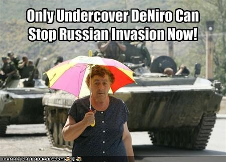 Only Undercover DeNiro Can