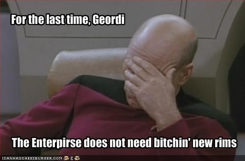 For the last time, Geordi