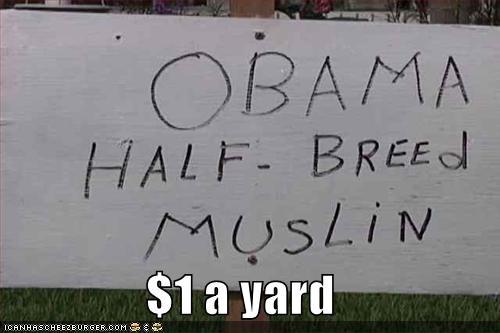 $1 a yard