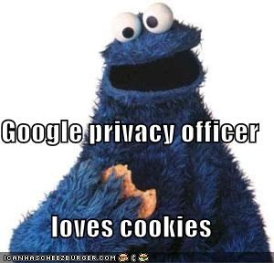 Google privacy officer loves cookies