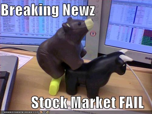 Breaking Newz  Stock Market FAIL
