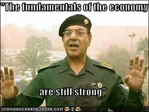 """The fundamentals of the economy  are still strong"""