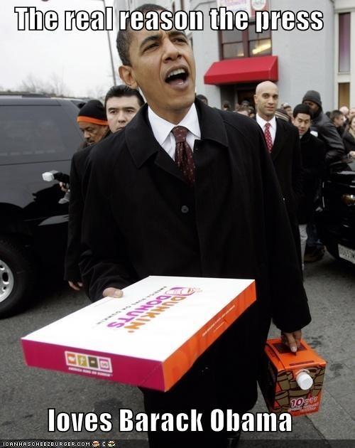 The real reason the press  loves Barack Obama