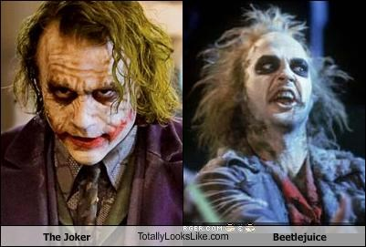 The Joker TotallyLooksLike.com Beetlejuice