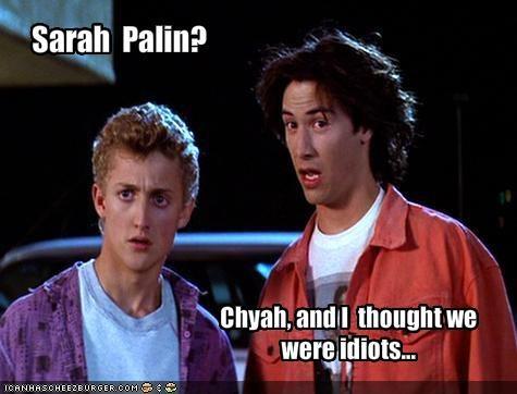 Sarah  Palin?