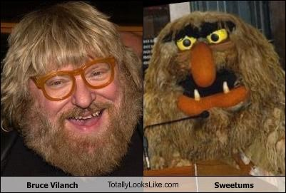 Bruce Vilanch TotallyLooksLike.com Sweetums