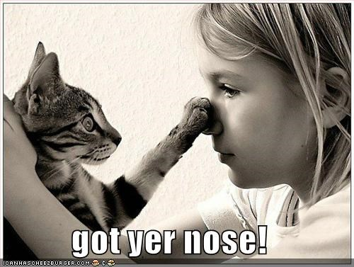 got yer nose!
