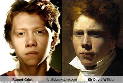 Rupert Grint TotallyLooksLike.com Sir David Wilkie