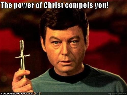 The power of Christ compels you!