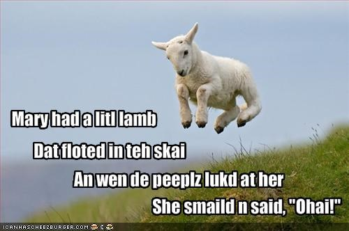 Mary had a litl lamb