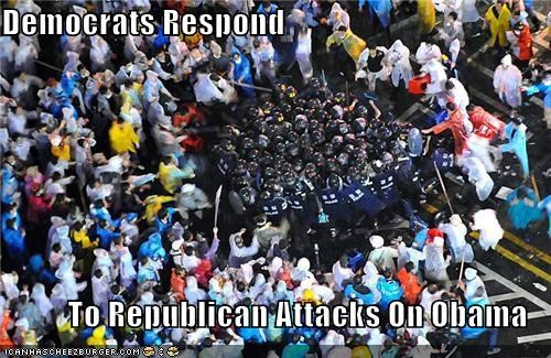 Democrats Respond  To Republican Attacks On Obama
